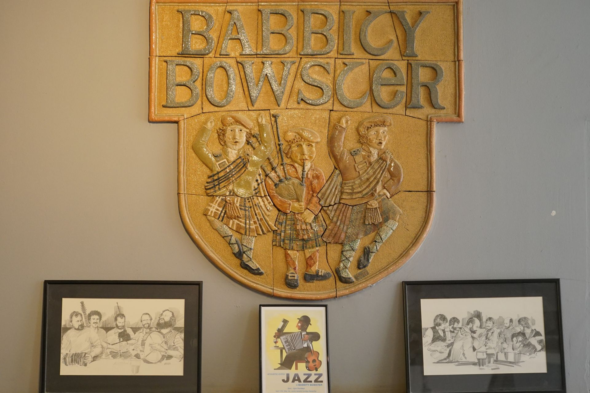 Babbity Bowster plaque