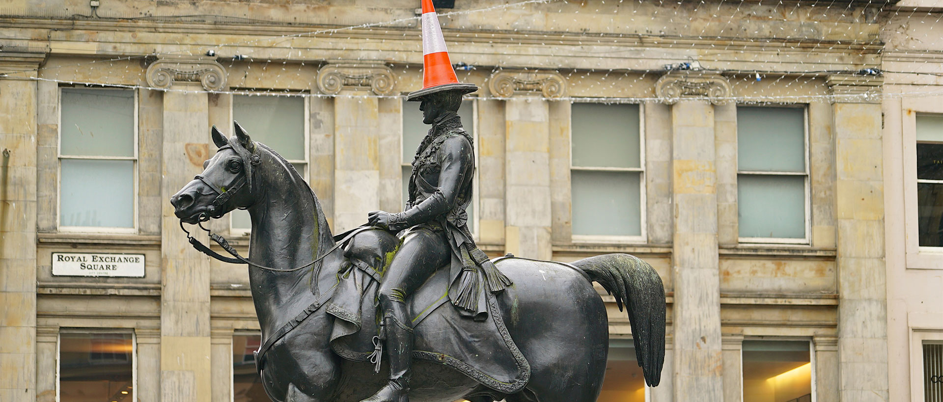 Eat Walk Glasgow: Duke of Wellington